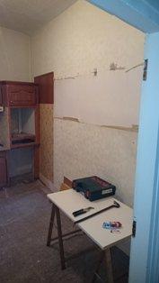 Rénovation et installation de cuisine avant travaux